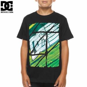 DC ディーシーシューズ ユース Tシャツ BRRP BIG YOUTH TEE ブラック NO10