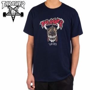スラッシャー THRASHER Tシャツ LOTTIES T-SHIRT ネイビー NO120