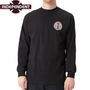 インディペンデント スラッシャー ロングTシャツ SUSPENSION SKETCH L/S TEE ブラック NO18