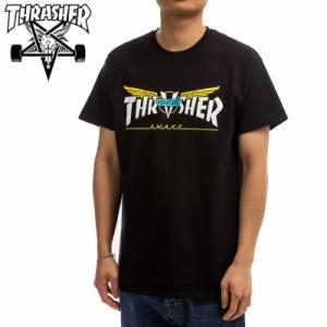 スラッシャー THRASHER Tシャツ VENTURE TRUCKS COLLAB T-SHIRT  ブラック  NO124
