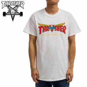 スラッシャー THRASHER Tシャツ VENTURE TRUCKS COLLAB T-SHIRT  ホワイト  NO125