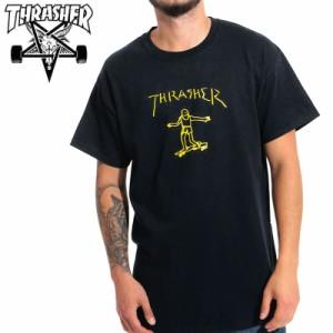スラッシャー THRASHER Tシャツ GONZ T-SHIRT  ブラック  NO126