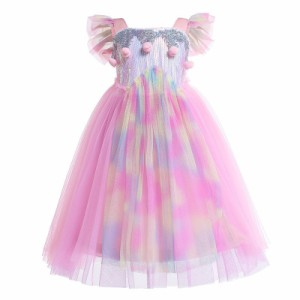 c2eac08e5d9c4 AD121ディズニープリンセス 子供用ドレス キッズ ソフィア ユニコーン なりきりワンピース ユニコーン 子どもドレス
