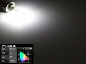 3050SMD×6連 6500K T10 ウエッジバルブ LED ホワイト A-91