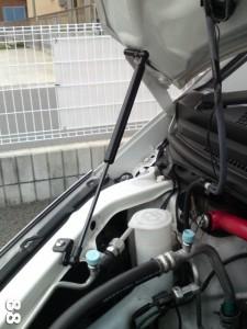 マツダ・アテンザ Atenza GG/GY系 ボンネットフード ダンパー