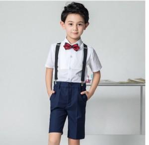 93d4378607810 激安☆4点セット シャツ+ズボン+蝶ネクタイ+サスペンダー スカート別売り 男の子