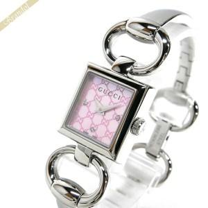 c957664784a5 《還元祭クーポン対象》グッチ GUCCI レディース腕時計 トルナヴォーニ ダイヤモンド バングルウォッチ ピンクシェル