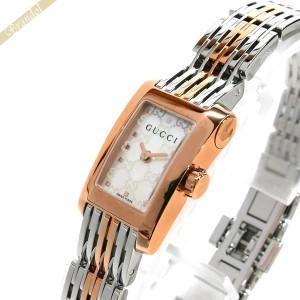 deecb0e4caba 《還元祭クーポン対象》グッチ GUCCI レディース腕時計 Gメトロ レクタングル ホワイトシェル×