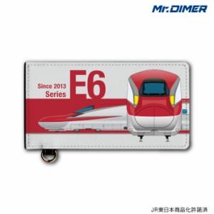 [◆]JR東日本 新幹線 E6系 こまち 大型乗車券ケース:ts1174sa-ups02 鉄道 電車 鉄道ファン グッズ パスケースミスターダイマー