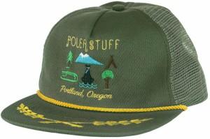 11ac48cff1c71 Poler Tourist Trap Trucker Hat Cap Olive キャップ 送料無料
