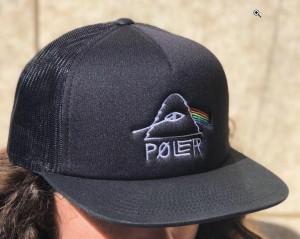 139aedac75300 Poler Psychedelic Trucker Hat Cap Black キャップ 送料無料