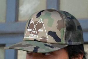 205956acce53a Poler Venn Mesh Trucker Hat Cap Furry Green Camo キャップ 送料無料