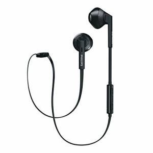 ede0a1d082 PHILIPS フィリップス Bluetoothイヤホン ワイヤレスヘッドフォン オープン型 マイク付 並行輸入品 ブラック SHB5250BK ◇