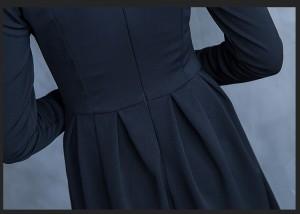 0f3cf78e6235a  取寄 フォーマル シンプル Aライン ワンピース 秋冬 秋 新作 韓国スタイル