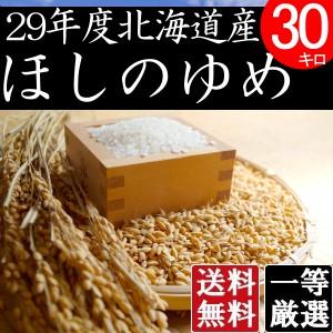 米 10キロ×3 送料無料 安い ほしのゆめ 北海道産 お米 10kg×3 安い 白米 北海道米 検査一等米