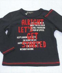 a46e76c9019c5 コムサイズム COMME CA ISM 長袖シャツ ロンt 100cm 紺系 トップス 男の子 女の子 キッズ 子供