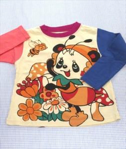 c4f9cb7220755 グラグラ GRAND GROUND Tシャツ 長袖 100cm 新品 白系 パンダ トップス 女の子 キッズ 子供服 通販