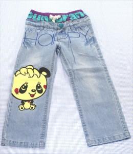 6ff04a120c981 グラグラ GRAND GROUND デニム パンツ 110cm 紺系 ボトムス パンダ キッズ 女の子 子供服 通販 買い取り