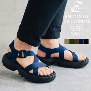 MEI メイ エムイーアイ Recycled tape sandal MENS サンダル スポーツサンダル スポサン ストラップサンダル 靴 シャークソール 厚底 メ