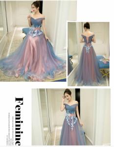 ロングドレス 結婚式 二次会 同窓会 フォーマル ウェディングドレス 花嫁 お呼ばれ ワンピース