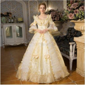 貴族 衣装 王族服 ジュリエット カラードレス 新劇演出 現代劇演出 ヨーロッパ風 結婚式