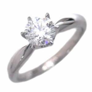AneCan掲載 婚約指輪 ダイヤモンド プラチナエンゲージリングBrand Jewelry アニーベル ソリティア 一粒