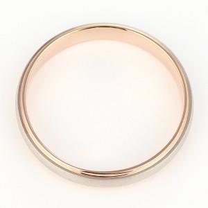 ペアリング Brand Jewelry Oferta プラチナ950 K18ピンクゴールド 結婚指輪