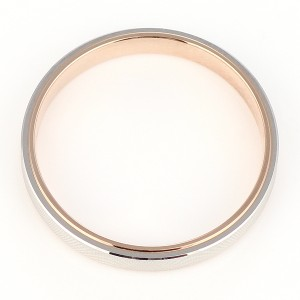 Brand Jewelry Oferta プラチナ950 K18ピンクゴールドペアリング 結婚指輪