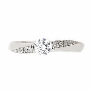 ペアリング Brand Jewelry fresco プラチナ ダイヤモンドリング 婚約指輪・結婚指輪