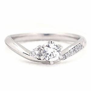 Brand Jewelry fresco プラチナ ダイヤモンドリング 婚約指輪・結婚指輪