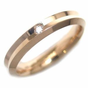 Italian Brand Jewelry ウノアエレ K18イエローゴールド ダイヤモンドペアリング
