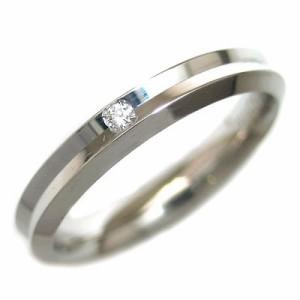 Italian Brand Jewelry ウノアエレ K18ホワイトゴールド ダイヤモンドペアリング