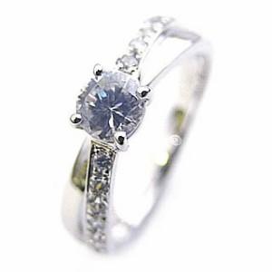 Brand Jewelry Angerosa Pt ダイヤモンドリング 婚約指輪・エンゲージリング