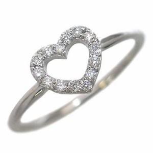 Brand Jewelry me. K10ホワイトゴールド ダイヤモンドリング