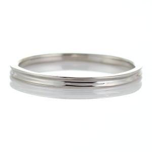 結婚指輪 マリッジリング プラチナ ペアリング 2本セット シンプル