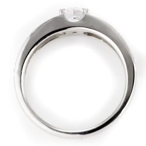 エンゲージリング 鑑別書付き 婚約指輪 ハワイアンジュエリー ハワイアン プラチナ900 一粒 大粒 PT900 ストレート