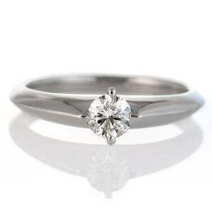 婚約指輪 エンゲージリング ダイヤモンド 指輪 プラチナ リング ダイヤ デザイン リング レディース ソリティア 人気 鑑定書付き エクセ