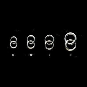 シャウト コンビリング(COMBI RING) 82−CR #5(4) 81lb【ゆうパケット】