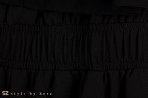 カシュクール シンプル オールインワン ロンパース サロペット モノトーン コンビネゾン 半袖 サルエル リラックス ウエストゴム つなぎ