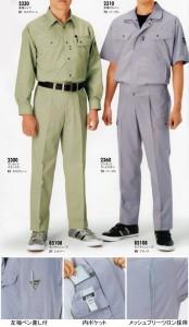 作業服・作業着 ジーベック 2310 半袖ブルゾン 4L〜5L