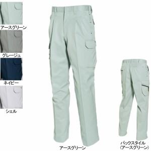 作業服・作業着・作業ズボン バートル BURTLE 6052 ツータックカーゴパンツ 91〜100