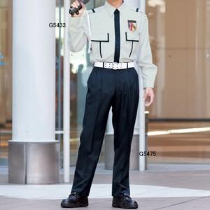 警備服・防犯商品 G-best G5433 冬長袖ペアシャツ SS〜4L
