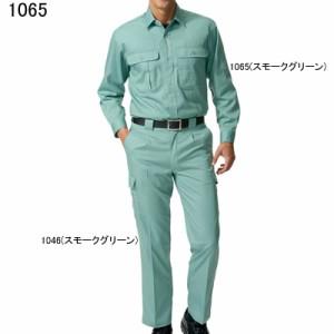 作業服・作業着 自重堂 1065 製品制電長袖シャツ 4L