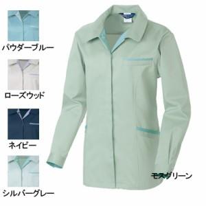 作業服・作業着 桑和(SOWA) 4222 エコ女子長袖スモック 3L