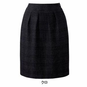 送料無料 事務服・制服・オフィスウェア  ピエ S8110 タックスカート 17号〜19号