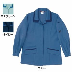 作業服・作業着 桑和 (SOWA) 9222 エコ女子長袖スモック S〜LL ストレッチ