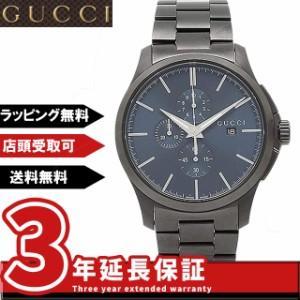 cfc9e5100356 グッチ GUCCI 腕時計 グッチ 時計 GUCCI YA126275 Gタイムレスクロノ メンズ腕時計 ウォッチ ブルー/ブラック