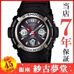 カシオ CASIO 腕時計 G-SHOCK ジーショック タフソーラー 電波時計 MULTIBAND 6 AWG-M100-1AJF メンズ