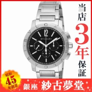 ブルガリ BVLGARI 腕時計 ウォッチ ブルガリブルガリ ブラック文字盤  自動巻 クロノグラフ BB41BSSDCH メンズ [並行輸入品]