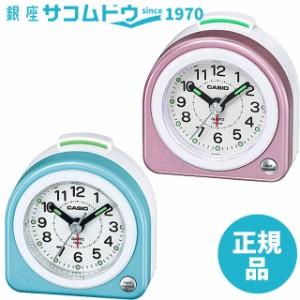 CASIO CLOCK カシオ クロック アナログ トラベル クロック TQ-145-2JF(水色) TQ-145-4BJF(ピンク) 目覚まし時計 CLOCK 置き時計